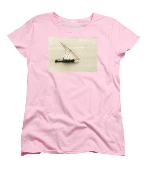 Fishing Dhow Women's T-Shirt (Standard Cut) by Patrick Kain