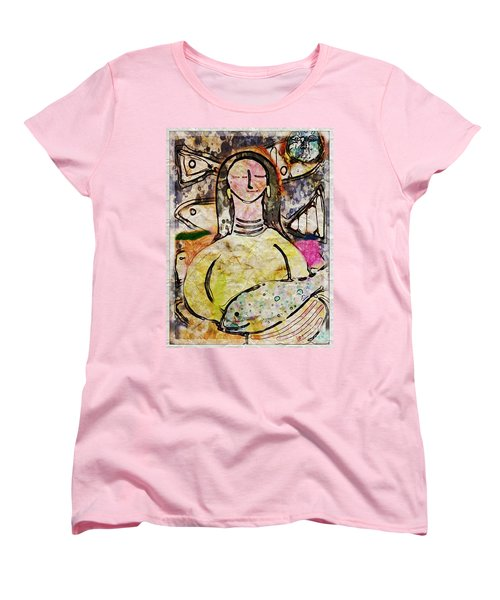 Fishmonger's Wife Women's T-Shirt (Standard Cut) by Alexis Rotella