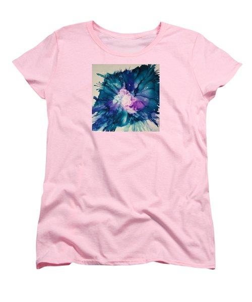 Flower Power Women's T-Shirt (Standard Cut) by Suzanne Canner