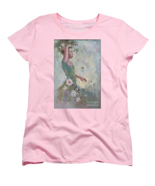 Flower Vender Women's T-Shirt (Standard Cut)