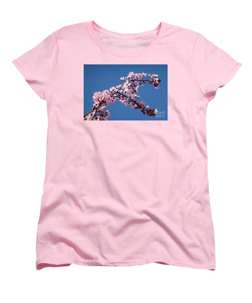 Flowering Of The Plum Tree 4 Women's T-Shirt (Standard Cut) by Jean Bernard Roussilhe