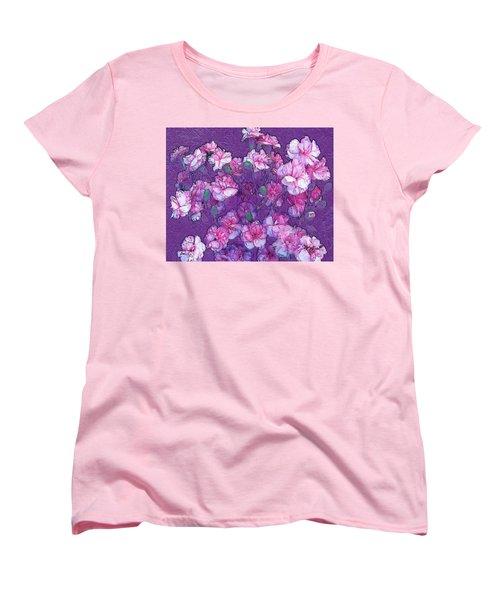 Flowers #063 Women's T-Shirt (Standard Cut) by Barbara Tristan