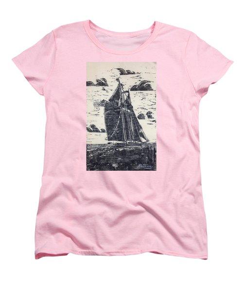 Flying High Women's T-Shirt (Standard Cut) by Stan Tenney