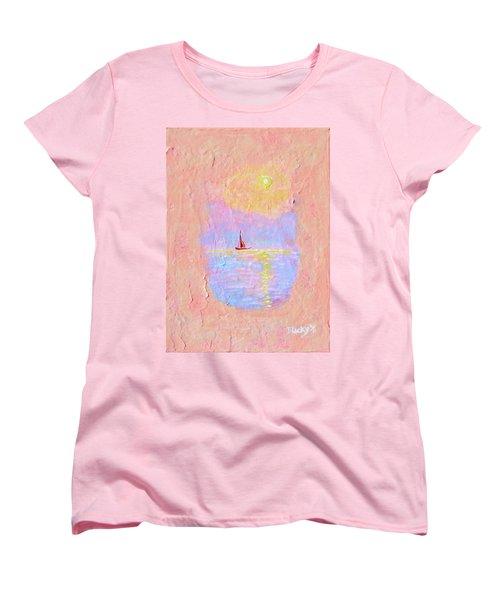 Forgotten Joy Women's T-Shirt (Standard Cut) by Donna Blackhall
