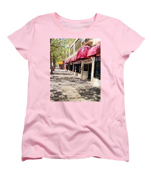 Fourth Avenue Women's T-Shirt (Standard Cut) by Donald S Hall