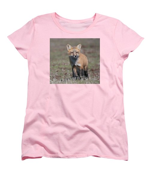 Fox Kit Women's T-Shirt (Standard Cut) by Elvira Butler