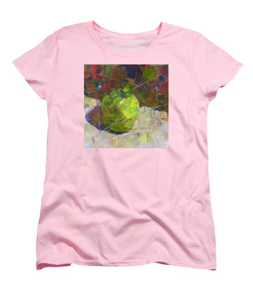 Fractured Granny Smith Women's T-Shirt (Standard Cut) by Susan Woodward
