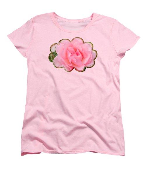 Fragrant Cloud Rose Women's T-Shirt (Standard Cut) by Jane McIlroy