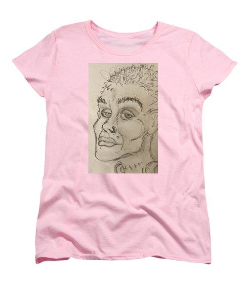 Frankenstein's Neighbor's Roommate's Girlfriend's Sister  Women's T-Shirt (Standard Cut) by Yshua The Painter