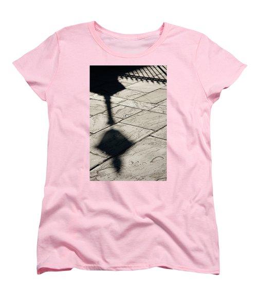 Women's T-Shirt (Standard Cut) featuring the photograph French Quarter Shadow by KG Thienemann