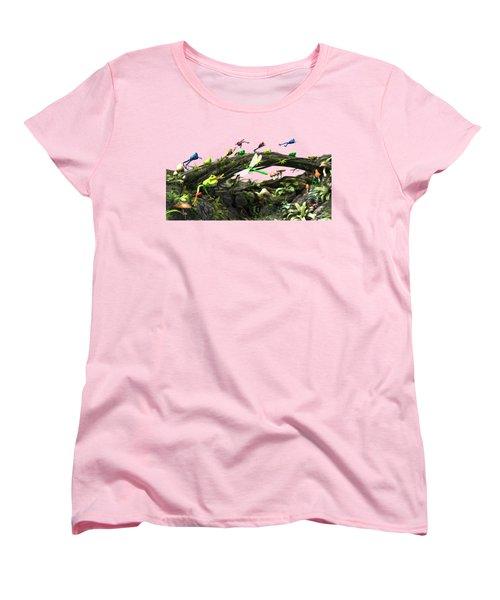Frog Glen Women's T-Shirt (Standard Cut) by Methune Hively