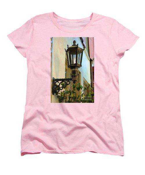 Gas Lite Women's T-Shirt (Standard Cut) by Donna Bentley