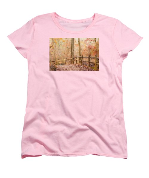 Georgia Fall Women's T-Shirt (Standard Cut) by RC Pics