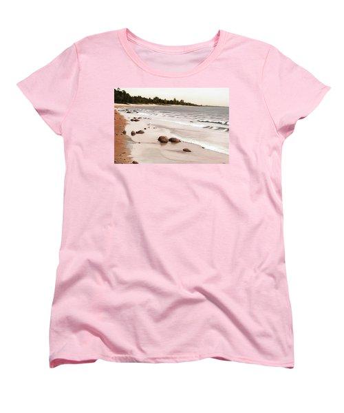 Georgian Bay Beach Women's T-Shirt (Standard Cut) by Kenneth M  Kirsch