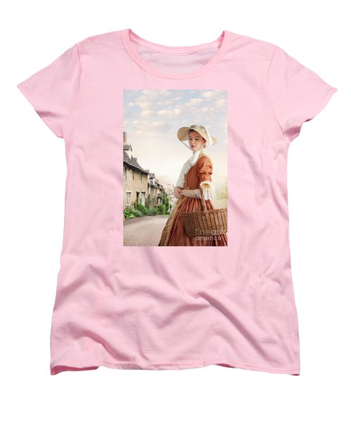 Georgian Period Woman Women's T-Shirt (Standard Cut) by Lee Avison