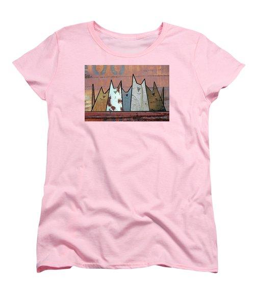 Glee Club Women's T-Shirt (Standard Cut) by Joan Ladendorf