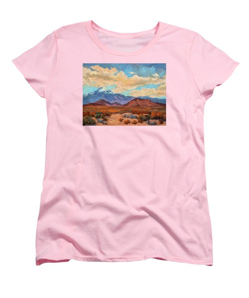 God's Creation Mt. San Gorgonio  Women's T-Shirt (Standard Cut) by Diane McClary