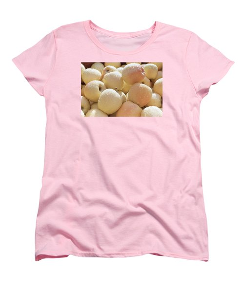 Women's T-Shirt (Standard Cut) featuring the photograph Golden Delicious by Laurie Stewart