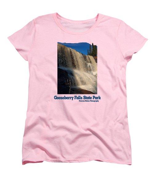 Gooseberry Falls Women's T-Shirt (Standard Cut) by James Peterson
