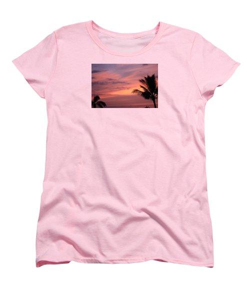 Gorgeous Hawaiian Sunset - 3 Women's T-Shirt (Standard Cut) by Karen Nicholson
