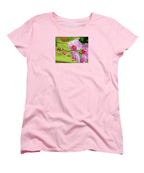 Women's T-Shirt (Standard Cut) featuring the photograph Grace In Space by Lynda Lehmann