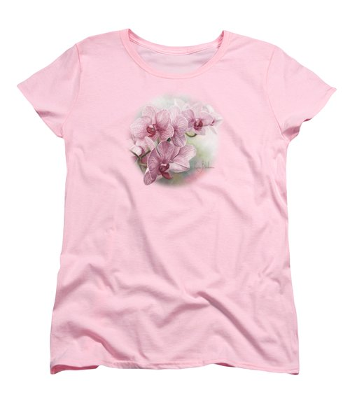 Graceful Orchids Women's T-Shirt (Standard Cut)