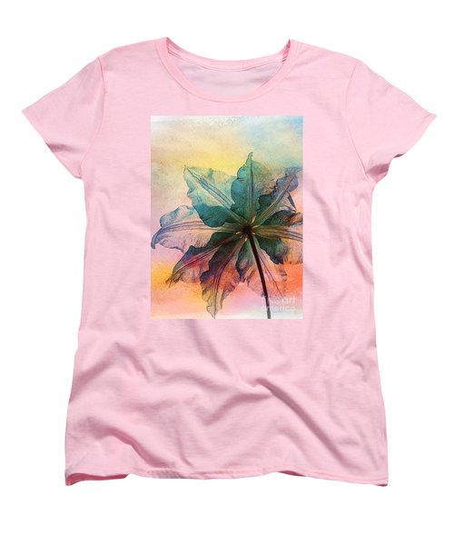 Gracefulness Women's T-Shirt (Standard Cut) by Klara Acel