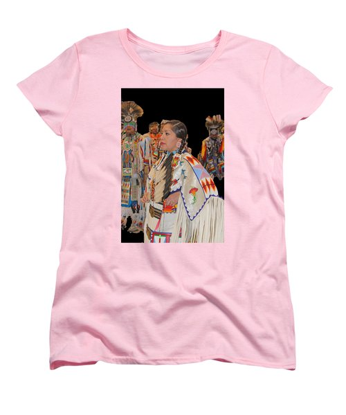Grand Entry-4 Women's T-Shirt (Standard Cut) by Audrey Robillard
