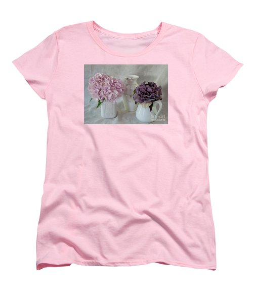 Women's T-Shirt (Standard Cut) featuring the photograph Grandmother's Vanity Top by Sherry Hallemeier