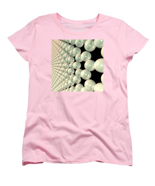 Graphene 6 Women's T-Shirt (Standard Cut) by Russell Kightley