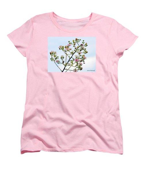 Grasping For The Hands Of Heaven Women's T-Shirt (Standard Cut) by Steve Warnstaff