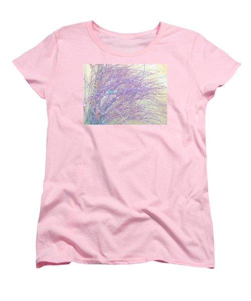 Women's T-Shirt (Standard Cut) featuring the photograph Grasses Toward The Sun by Lenore Senior