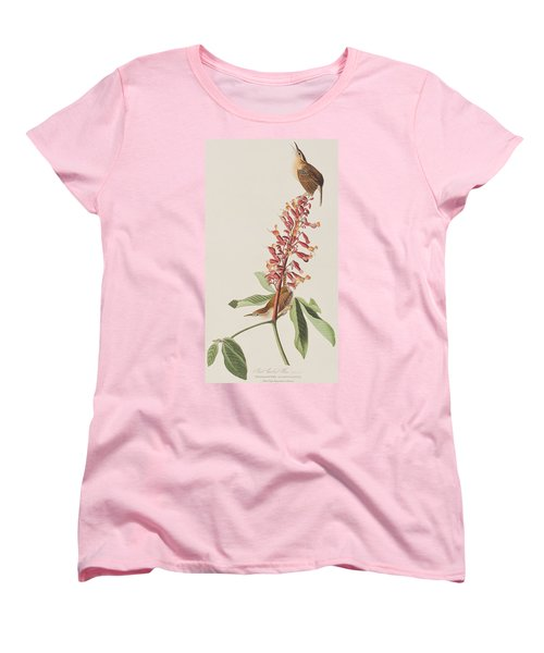 Great Carolina Wren Women's T-Shirt (Standard Cut) by John James Audubon