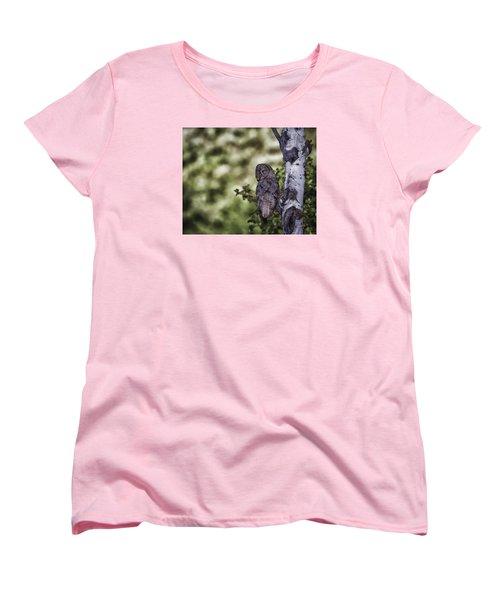 Grey Ghost Women's T-Shirt (Standard Cut) by Elizabeth Eldridge