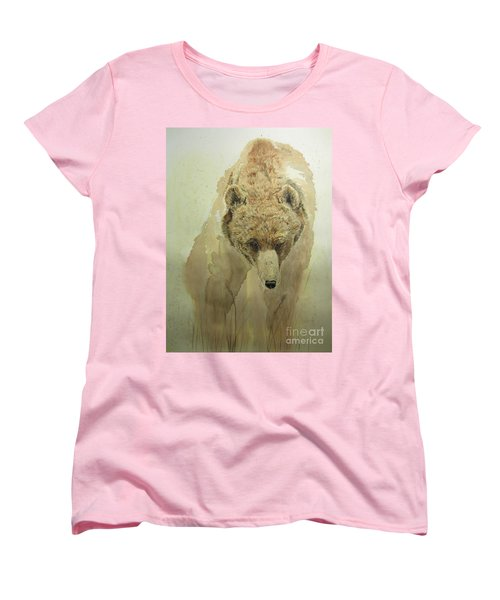 Grizzly Bear1 Women's T-Shirt (Standard Cut) by Laurianna Taylor