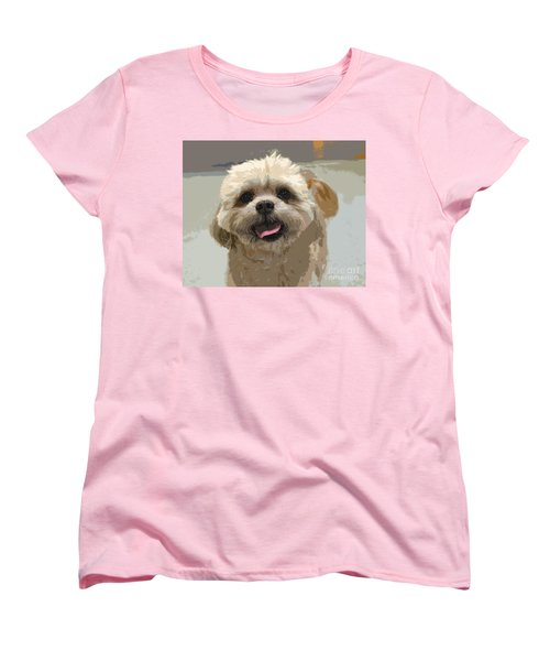 Happy Shih Tzu Women's T-Shirt (Standard Cut)