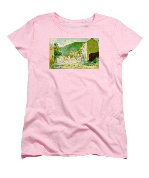 Harpers Ferry West Virginia 1873 Women's T-Shirt (Standard Cut) by Padre Art