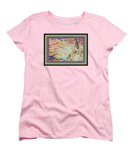 Hawk And Sky Women's T-Shirt (Standard Cut) by YoMamaBird Rhonda
