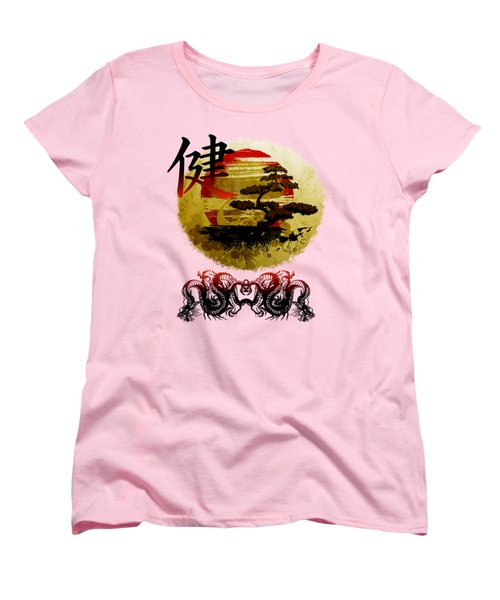 Health Oriental Symbol Women's T-Shirt (Standard Cut)