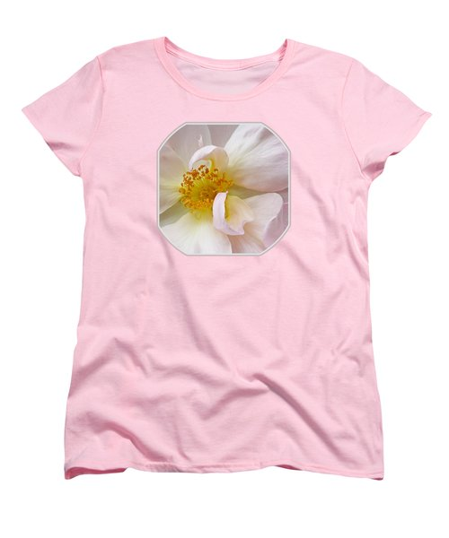 Heart Of The Rose Women's T-Shirt (Standard Fit)