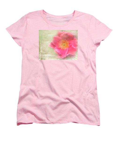 Heirloom Rose Women's T-Shirt (Standard Cut) by Catherine Alfidi
