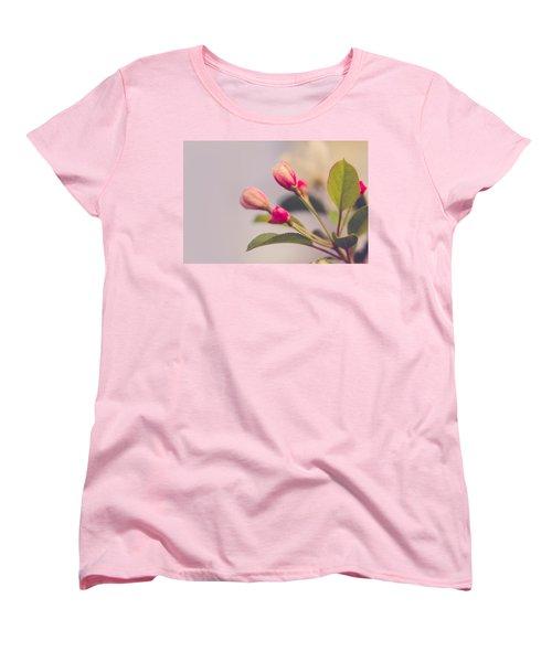 Hello Spring Women's T-Shirt (Standard Cut) by Yvette Van Teeffelen