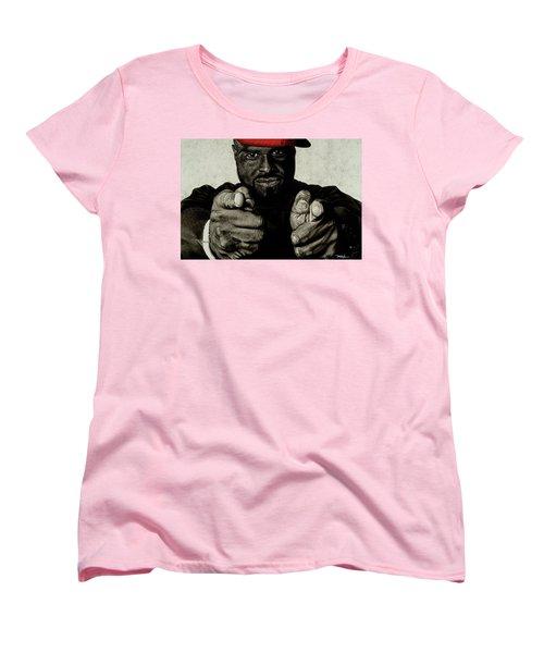 Hey You- Funk Flex Women's T-Shirt (Standard Cut)