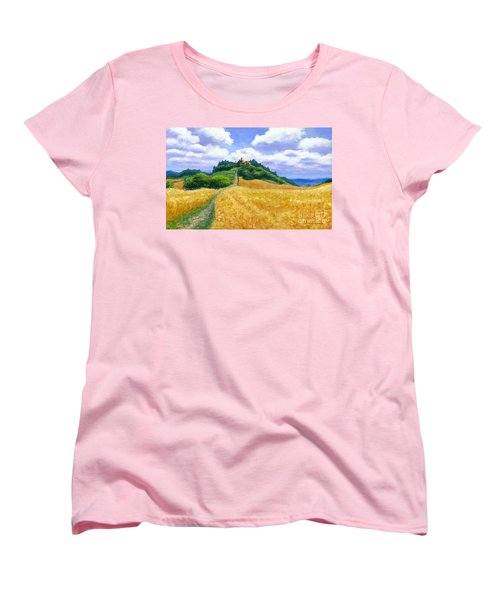 High Noon Tuscany  Women's T-Shirt (Standard Cut) by Michael Swanson
