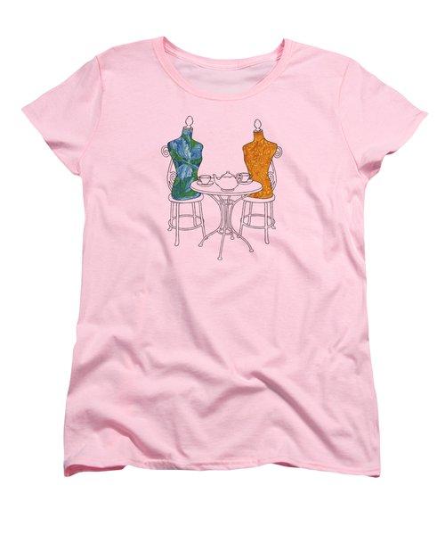 High Tea Women's T-Shirt (Standard Cut) by Meg Shearer