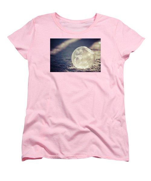 His Heart Was Always Warm Women's T-Shirt (Standard Cut) by Yvette Van Teeffelen