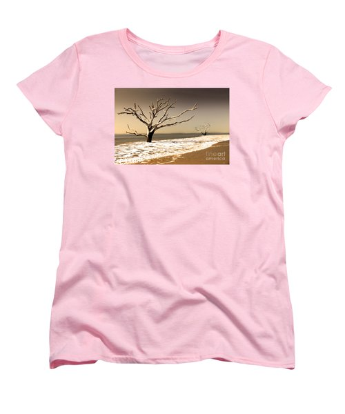 Women's T-Shirt (Standard Cut) featuring the photograph Hold The Line by Dana DiPasquale