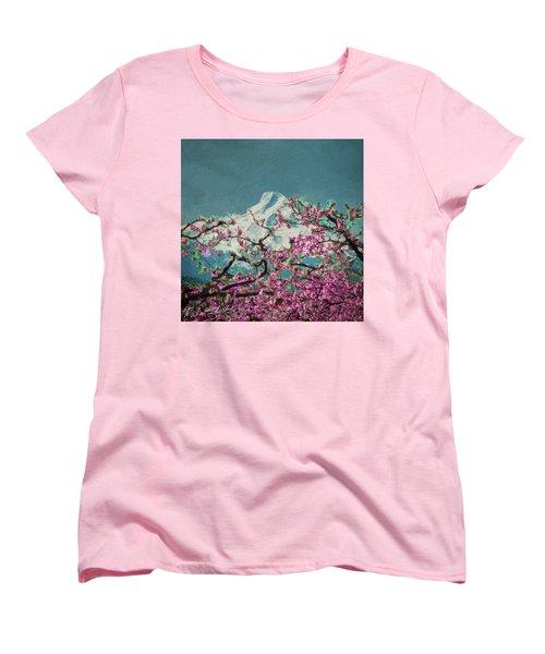 Hood Blossoms Women's T-Shirt (Standard Cut)