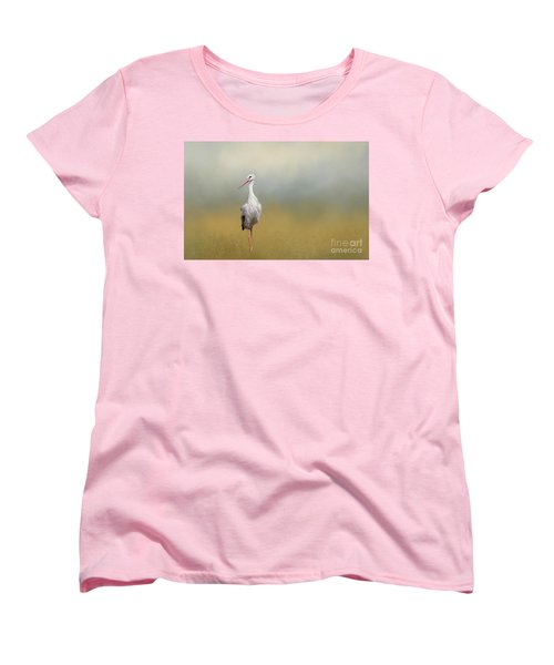 Hope Of Spring Women's T-Shirt (Standard Cut) by Eva Lechner
