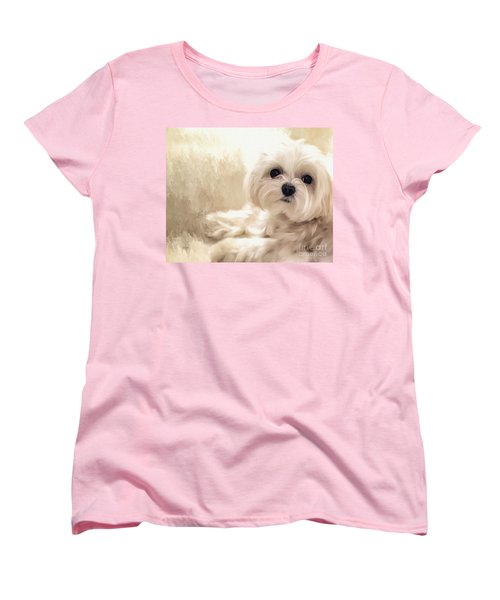 Hoping For A Cookie Women's T-Shirt (Standard Cut) by Lois Bryan